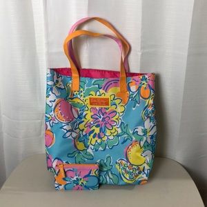Lilly Pulitzer Estée Lauder Tote Bag & Coin Purse